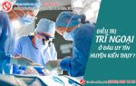 điều trị trĩ ngoại ở đâu tại huyện Kiến Thụy