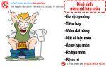 Đi vệ sinh nóng rát hậu môn có phải bệnh trĩ?