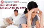 đau vùng kín khi quan hệ