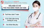 hướng dẫn uống thuốc phá thai