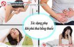 tác dụng phụ khi phá thai bằng thuốc