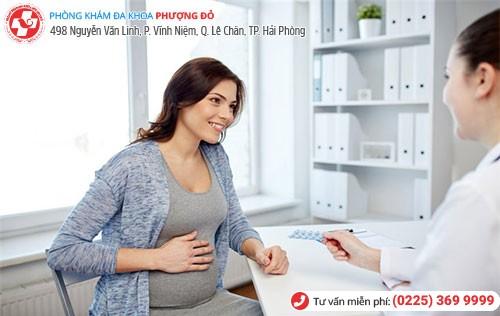 bệnh trĩ khi mang thai nên thăm khám và điều trị sớm
