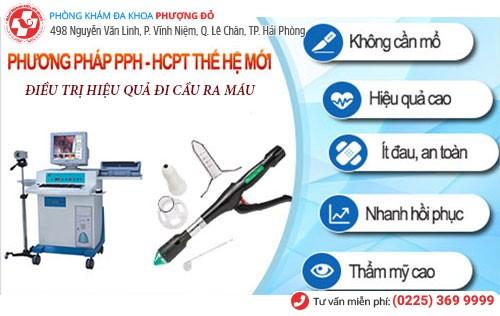 Điều trị đi cầu ra máu bằng PPH và HCPT hiện đại