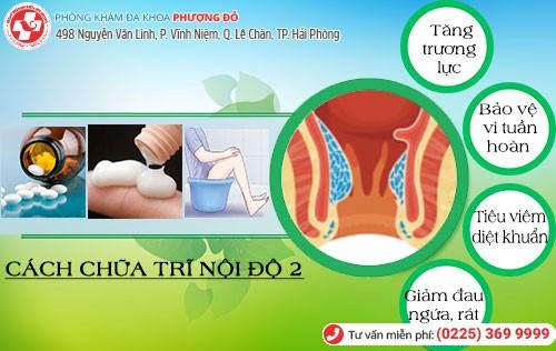phương pháp điều trị trĩ nội