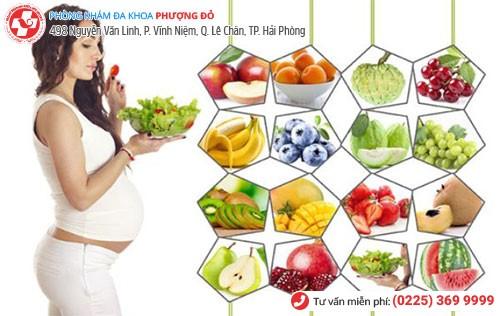 bổ sung thêm nhiều hoa quả và chất xơ