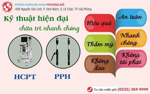 Kỹ thuật PPH và HCPT chữa bệnh trĩ hiệu quả