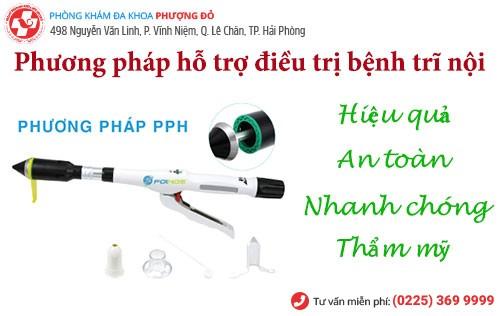 Chữa trĩ nội bằng ngoại khoa PPH