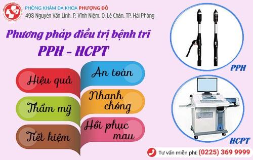 Chữa trĩ bằng công nghệ PPH và HCPT hiệu quả