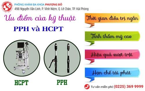 Chữa trĩ bằng phương pháp PPH và HCPT tại Đa Khoa Phượng Đỏ
