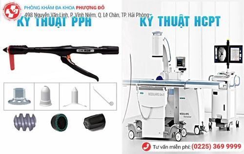 Điều trị bằng kỹ thuật PPH và HCPT