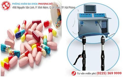 Điều trị bệnh bằng thuốc và phương pháp ngoại khoa