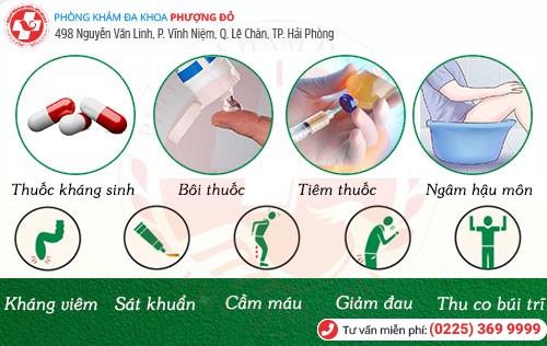 cách chữa trĩ ngoại độ 1