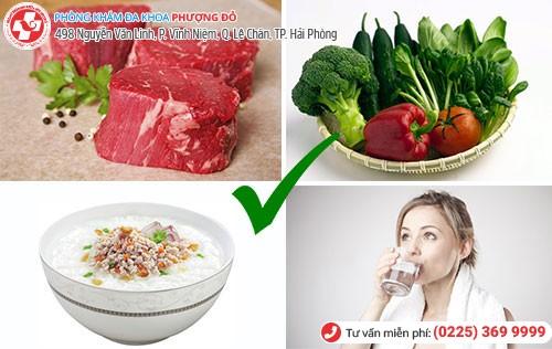 rò hậu môn nên ăn gì