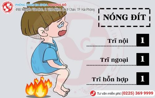 Nguyên nhân nóng đít
