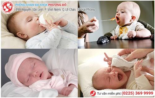 Nguyên nhân táo bón ở trẻ sơ sinh