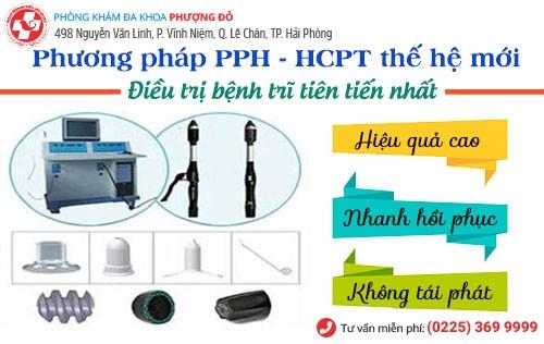 Phương pháp cắt trĩ PPH và HCPT hiện đại