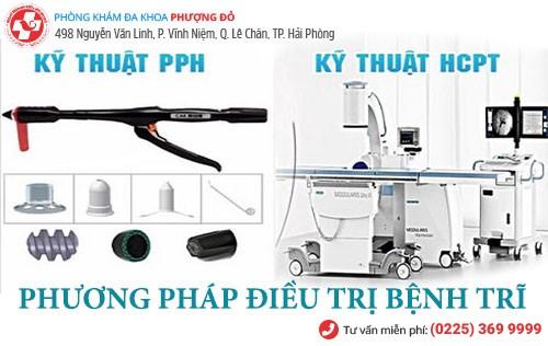 Chữa bệnh trĩ hiệu quả bằng PPH và HCPT