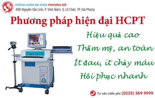 Phương pháp chữa bệnh trĩ ngoại HCPT