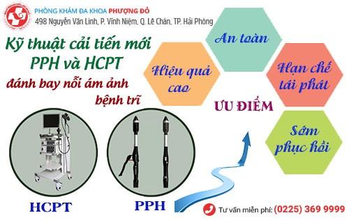Cắt trĩ bằng PPH và HCPT hiệu quả
