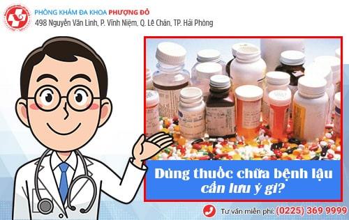 bệnh lậu uống thuốc gì