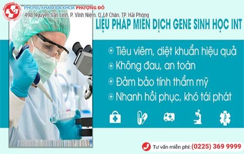 Liệu pháp miễn dịch gene sinh học INT