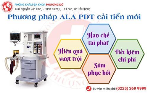 Công nghệ ALA – PDT chữa sùi mào gà hiệu quả