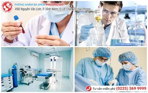 Đa Khoa Phượng Đỏ hỗ trợ điều trị bệnh lậu hiệu quả