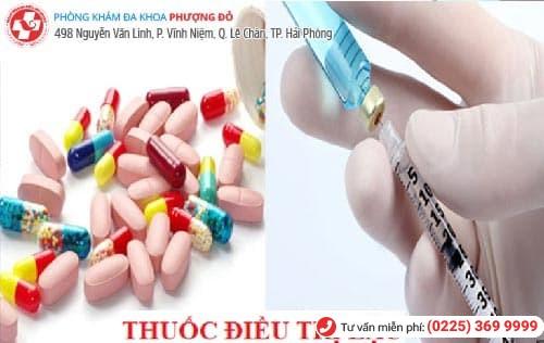 điều trị bệnh lậu bằng thuốc uống