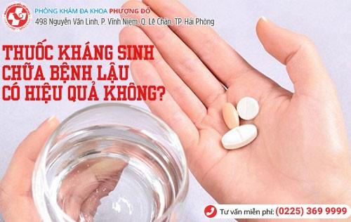 kháng sinh trị lậu