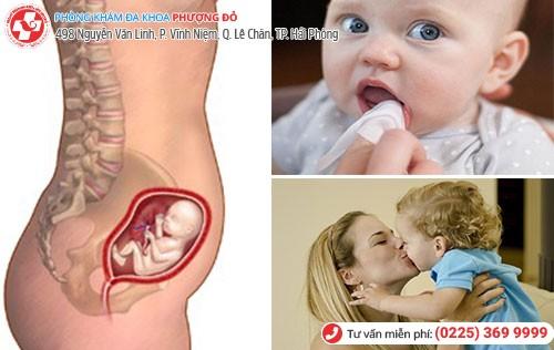 nguyên nhân mụn rộp sinh dục ở bé