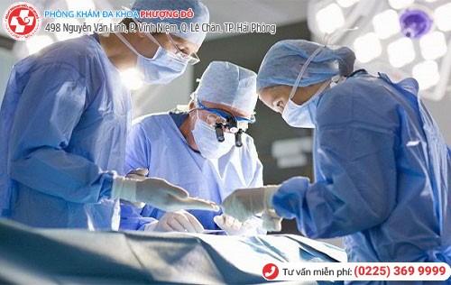 Cách chữa đau tinh hoàn phải bằng phẫu thuật