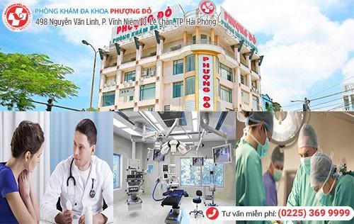 Đa Khoa Phượng Đỏ nơi điều trị trĩ nội hiệu quả
