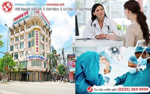 Đa Khoa Phượng Đỏ nơi điều trị viêm cổ tử cung hiệu quả