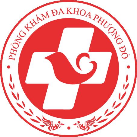 logo phòng khám đa khoa phượng đỏ