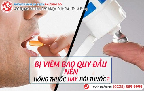 Nam giới bị viêm tinh hoàn nên uống thuốc hay bôi thuốc?