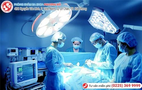 Điều trị bệnh bằng phương pháp phẫu thuật