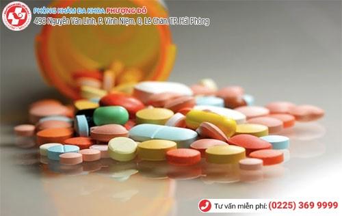 Điều trị bệnh bằng thuốc kháng sinh