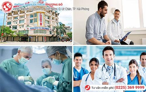 Đa Khoa Phượng Đỏ chữa bệnh nam khoa chất lượng