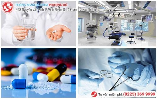 Điều trị tiểu ra máu bằng nội khoa và ngoại khoa