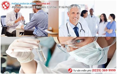 Đa Khoa Phượng Đỏ điều trị bệnh tiểu ra mủ hiệu quả