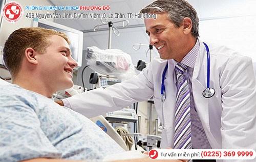 Đa Khoa Phượng Đỏ điều trị ngứa dương vật nhanh, hiệu quả, an toàn