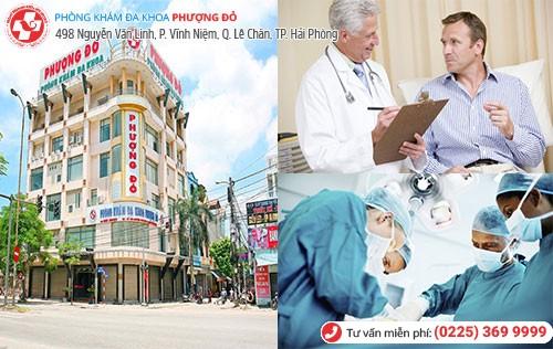 Đa Khoa Phượng Đỏ điều trị viêm đường tiết niệu