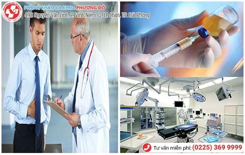 Đa Khoa Phượng Đỏ điều trị bệnh nam khoa chất lượng