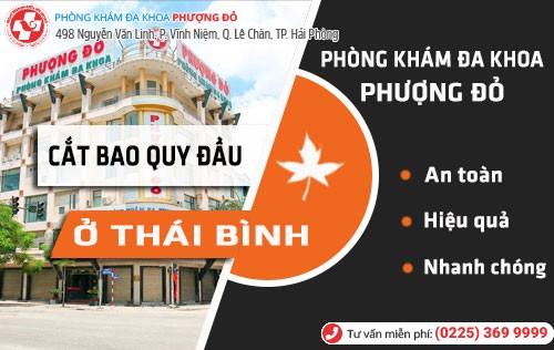 Địa chỉ cắt bao quy đầu ở Thái Bình