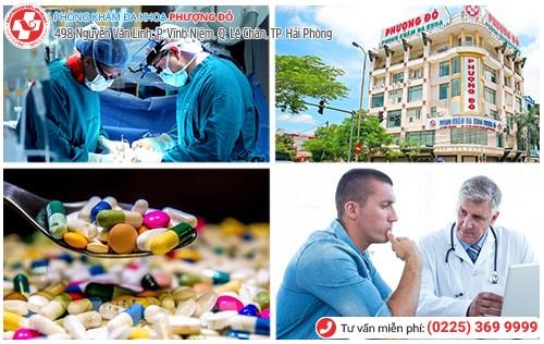 Phòng Khám Đa Khoa Phượng Đỏ chữa các bệnh lý gây căng tức bàng quang hiệu quả