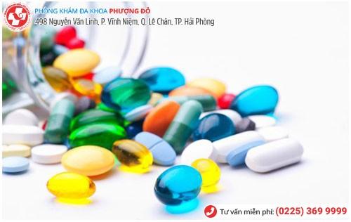 Sử dụng thuốc kháng sinh điều trị trường hợp bệnh còn nhẹ