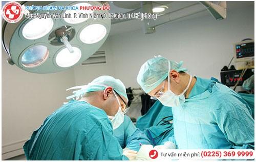 Điều trị bệnh nam khoa tại Đa Khoa Phượng Đỏ