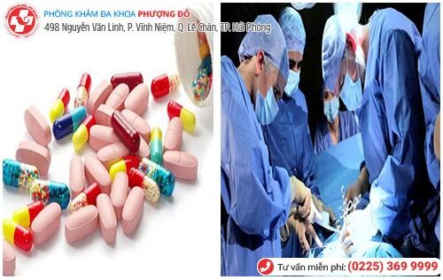 Điều trị tiểu buốt bằng nội khoa và ngoại khoa