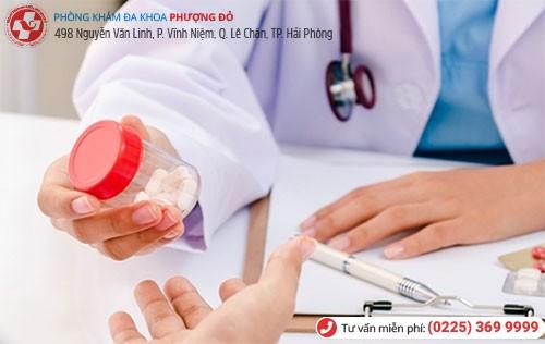 Điều trị viêm bàng quang bằng thuốc được áp dụng với các trường hợp bệnh ở mức độ nhẹ