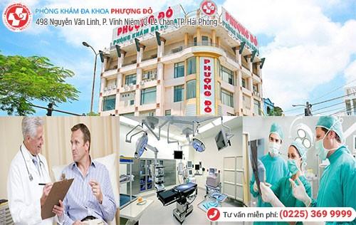 Đa Khoa Phượng Đỏ điều trị viêm bàng quang